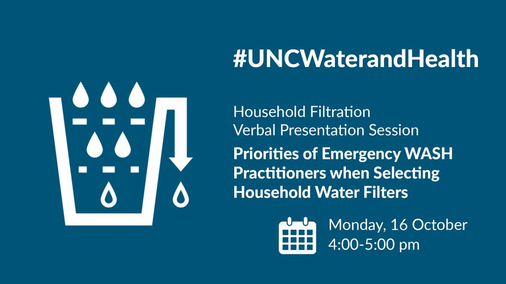 CAWST | Join us at the UNC Water and Health Conference