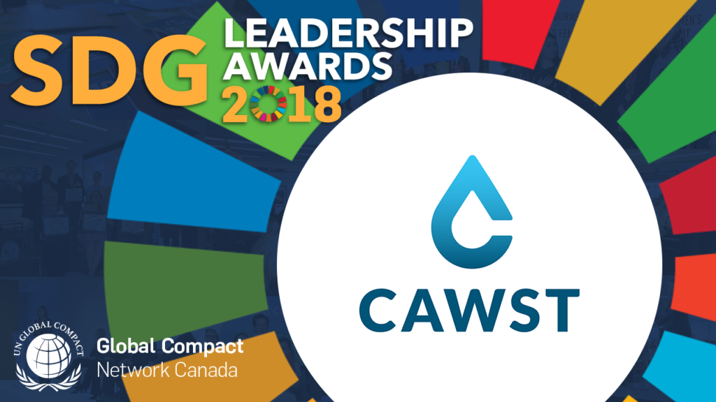 CAWST Honoured as a Leader in Solving Global Challenges