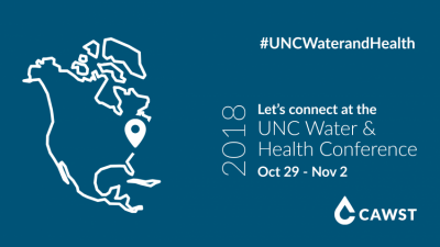 CAWST at the 2018 UNC Water and Health Conference