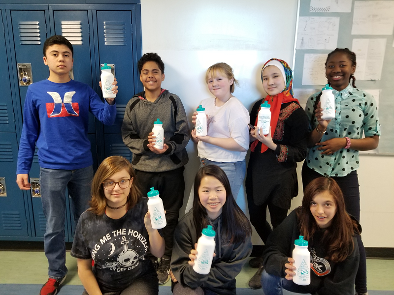 Youth taking action on safe drinking water in Canada