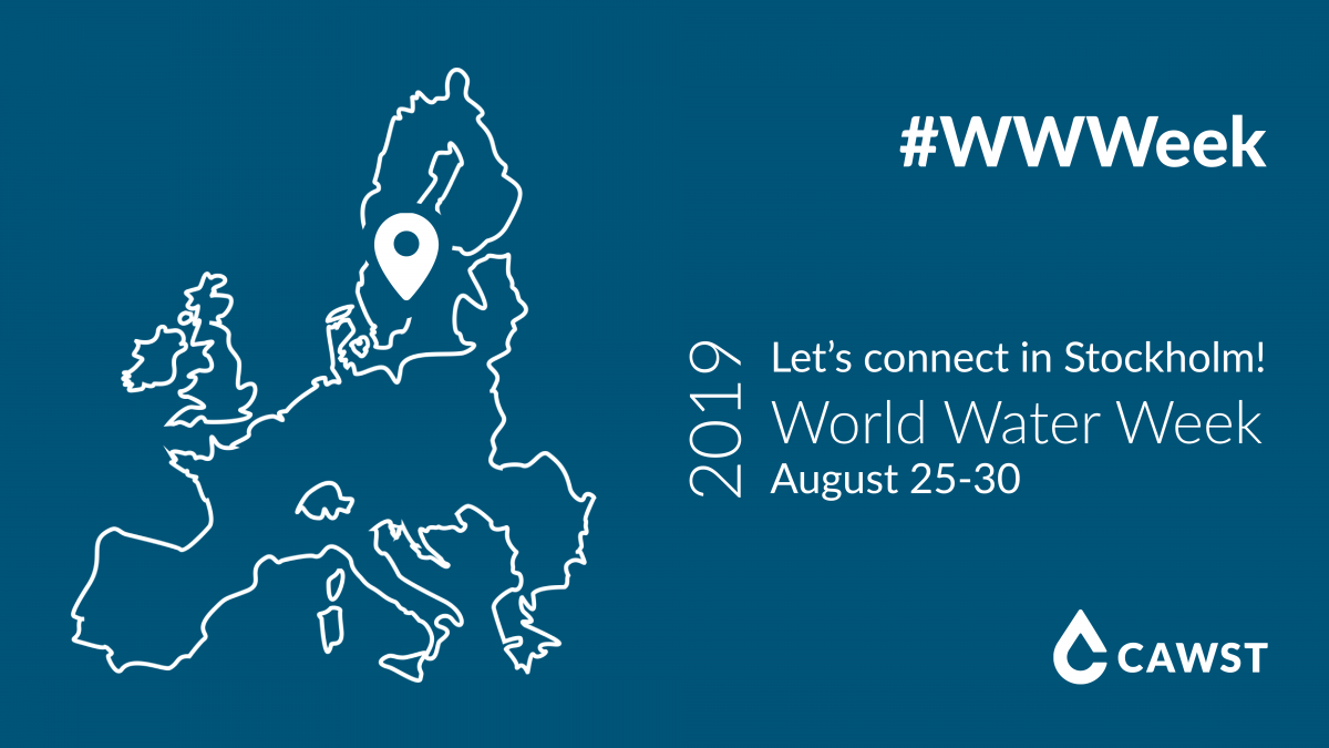 See you at World Water Week 2019