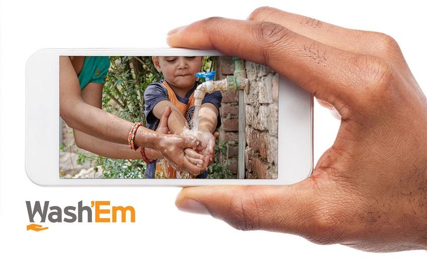 Wash'Em app - handwashing behaviour change in emergency contexts