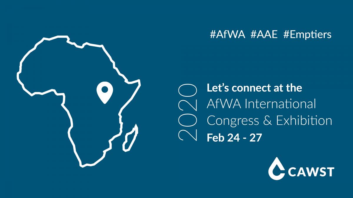 See you at AfWA 2020