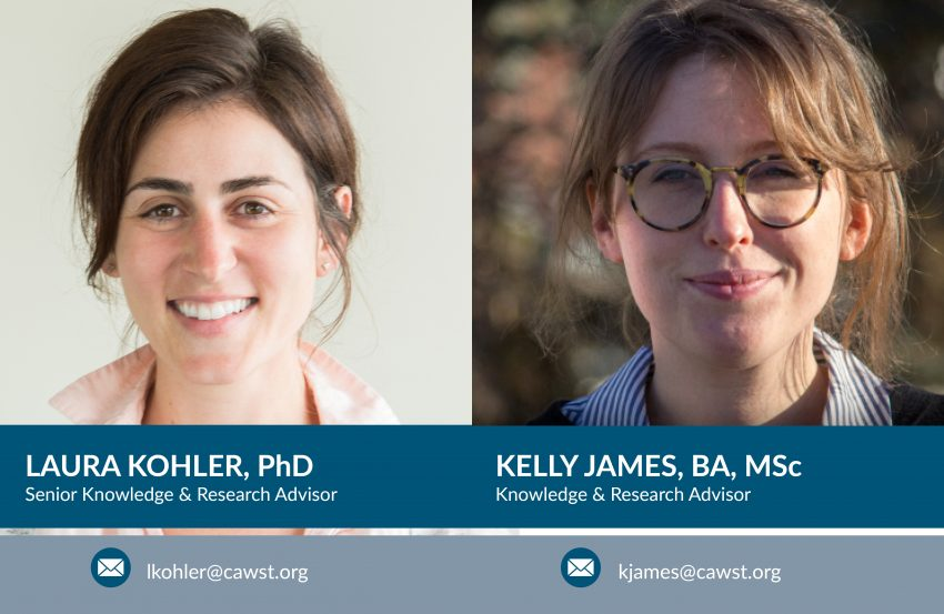Headeshots: Laura Kohler and Kelly James