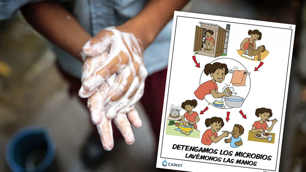 How to promote handwashing behaviour using posters