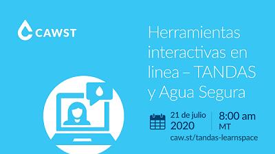 Herramientas interactivas en linea - TANDAS y Aqua Segura