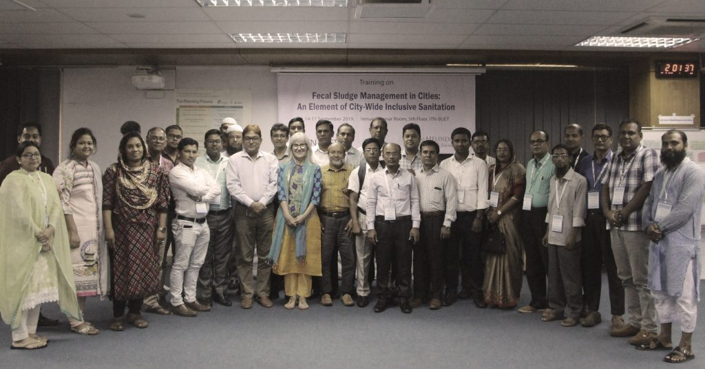 International Training Network - Bangladesh University of Engineering and Technology trainers