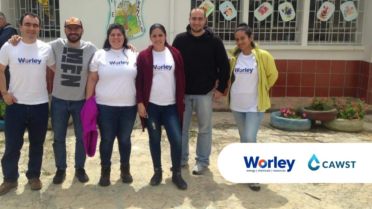 Worley volunteers their skills to solve water issues in Colombia